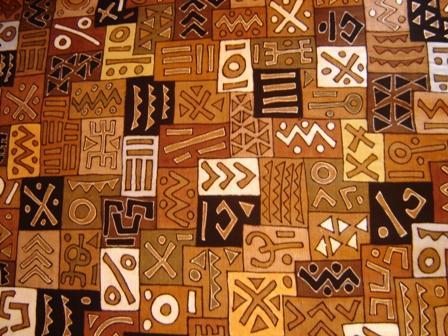 tissu africain bogolan
